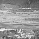 Bahnhof und Industrie